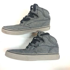 High Tops Vans Skate Shoe Youth Size 4